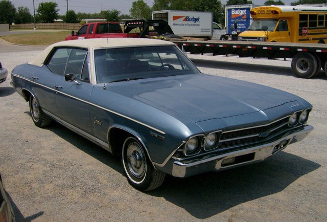 1968 Chevelle Concours 2dr - Anybody know anything ...
